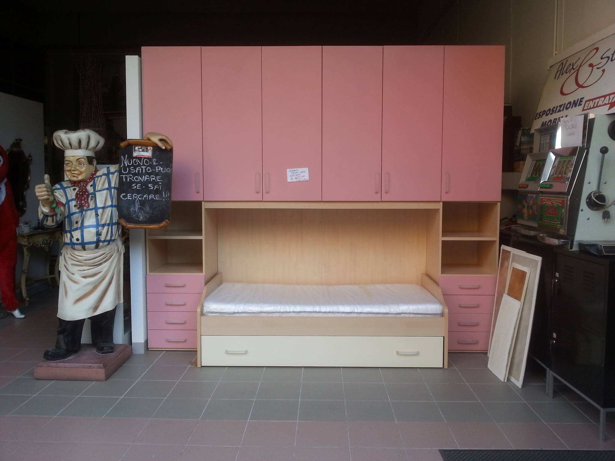 Testata letto 160 x vendesi for Disegni ponte veranda